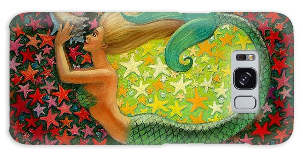 Mermaid's Circle Galaxy Case by Sue Halstenberg