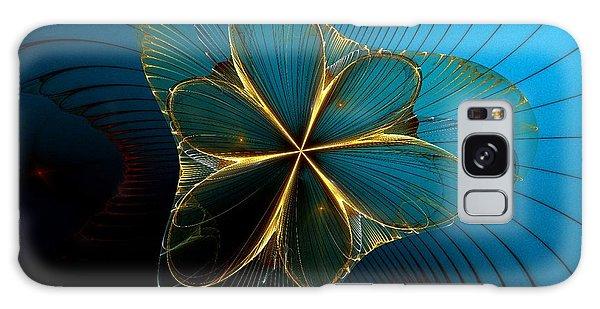Galaxy Case featuring the digital art Mermaid's Corsage by Sandra Bauser Digital Art