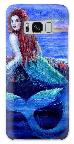 Mermaid's Dinner Galaxy Case