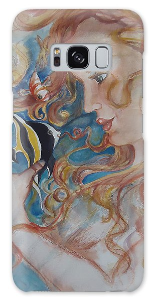Mermaids Kiss Galaxy Case