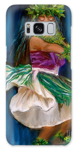 Merrie Monarch Hula Galaxy Case by Jenny Lee