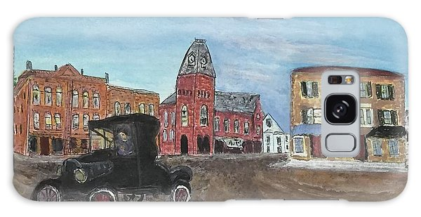 Old New England Town Galaxy Case