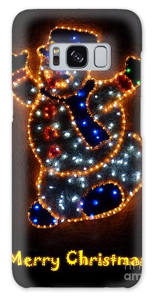 Merry Christmas Galaxy Case by Jean Bernard Roussilhe