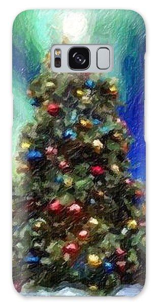 Merry Christmas Galaxy Case