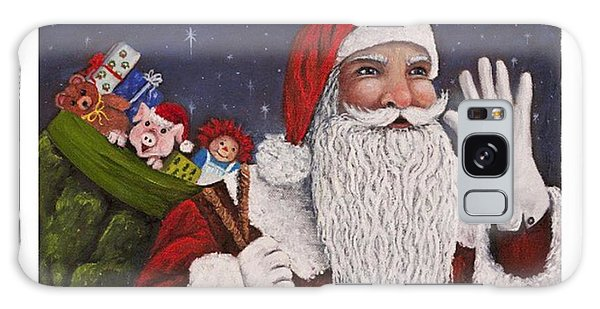 Holiday Galaxy Case - merry #christmas To All Is This by Darice Machel McGuire