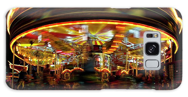 Merry-go-round Galaxy Case by Beverly Cash