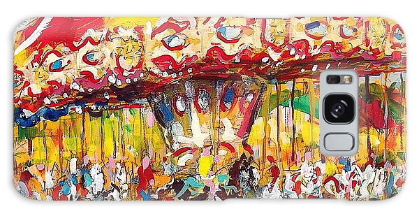 Merry-go-round Galaxy Case by Les Leffingwell
