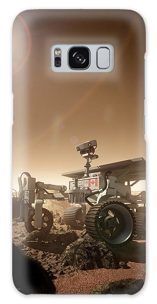 Galaxy Case featuring the digital art Mers Rover by Bryan Versteeg