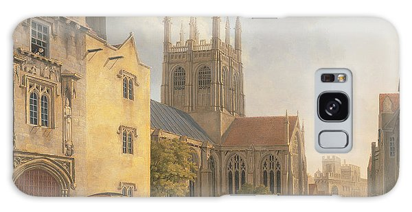 Town Galaxy Case - Merton College - Oxford by Michael Rooker