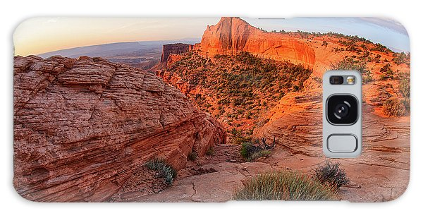 Mesa Arch Overlook At Dawn Galaxy Case