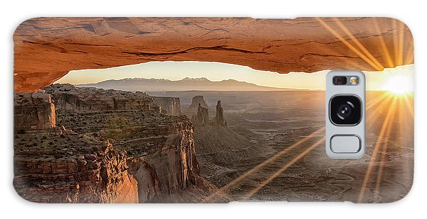 Travel Galaxy Case - Mesa Arch Sunrise 4 - Canyonlands National Park - Moab Utah by Brian Harig