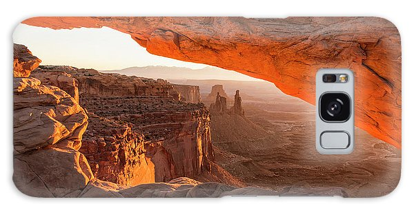 Southwest Usa Galaxy Case - Mesa Arch Sunrise 5 - Canyonlands National Park - Moab Utah by Brian Harig