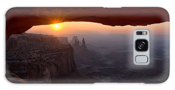 Mesa Arch Sunrise Galaxy Case