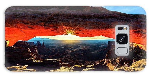 Mesa Arch Sunrise Galaxy Case