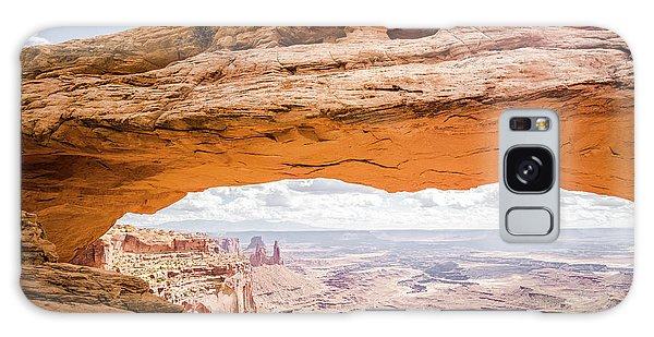 Mesa Arch Sunrise Galaxy Case by JR Photography