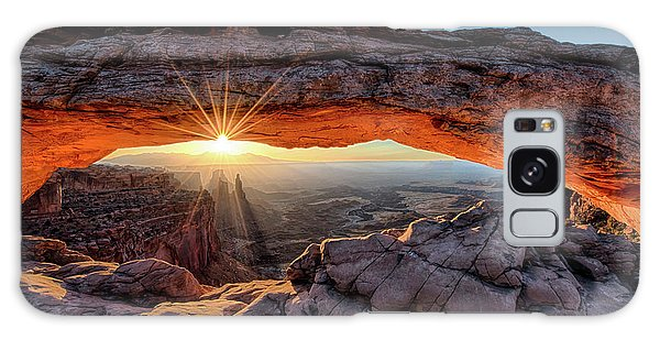 Mesa Arch Sunburst By Olena Art Galaxy Case