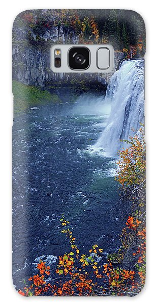 Mesa Falls In The Fall Galaxy Case