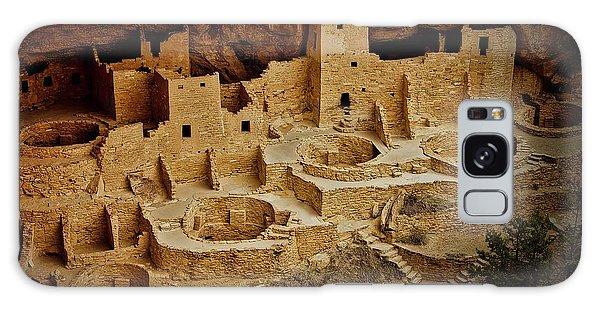 Mesa Verde Cliff Dwellings, Mesa Verde National Park Galaxy Case