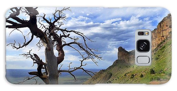Galaxy Case featuring the photograph Mesa Verde Mood by Skip Hunt