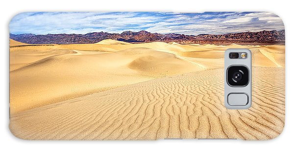 Mesquite Flat Sand Dunes In Death Valley Galaxy Case