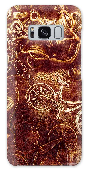 Automobile Galaxy Case - Messy Bike Workshop by Jorgo Photography - Wall Art Gallery