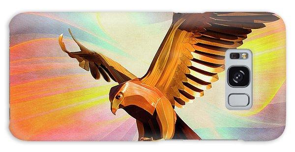 Metal Bird 1 Of 4 Galaxy Case