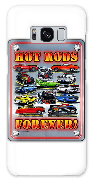 Metal Hot Rods Forever Galaxy Case