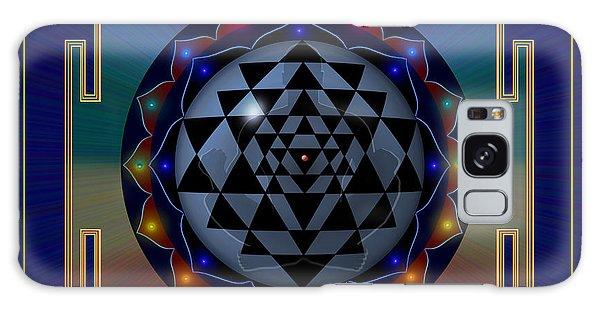 Metal Mandala Galaxy Case