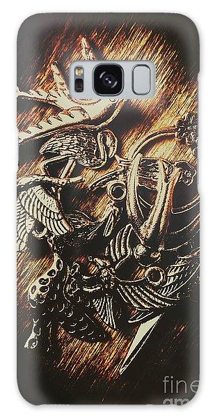Beautiful Galaxy Case - Metallic Birdlife Abstract by Jorgo Photography - Wall Art Gallery