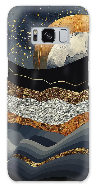 Landscape Galaxy Case - Metallic Mountains by Katherine Smit