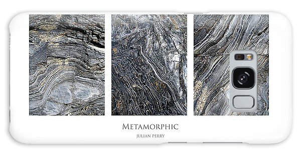 Galaxy Case featuring the digital art Metamorphic by Julian Perry