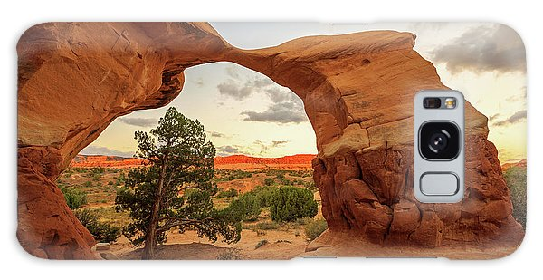 Southwest Usa Galaxy Case - Metate Arch by Johnny Adolphson