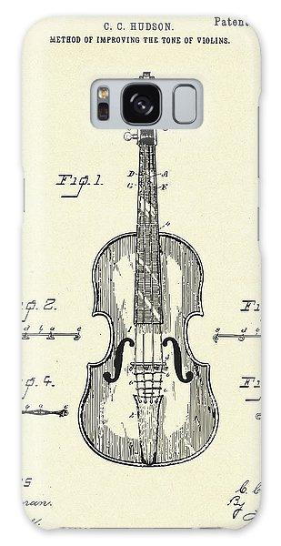 Violin Galaxy Case - Method Of Improving The Tone Of Violins-1888 by Pablo Romero