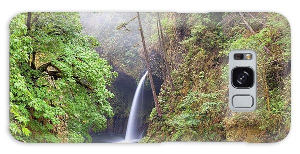 Metlako Falls In Columbia River Gorge Galaxy Case