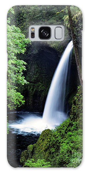 Metlako Falls Waterfall Art By Kaylyn Franks Galaxy Case