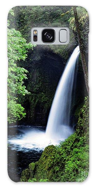 Metlako Falls Waterfall Art By Kaylyn Franks Galaxy Case