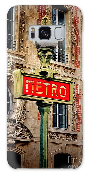 Metro Galaxy Case by Olivier Le Queinec