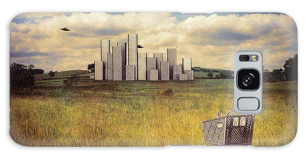 Aliens Galaxy Case - Metropolis by Tom Mc Nemar