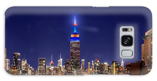 Empire State Building Galaxy S8 Case - Mets Dominance by Az Jackson