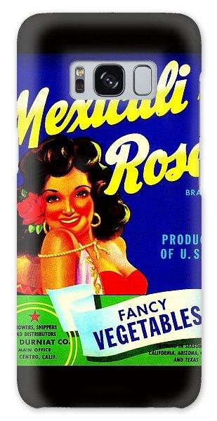 Mexicali Rose Vintage Vegetable Crate Label Galaxy Case by Peter Gumaer Ogden