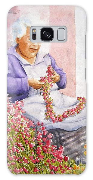 Mexican Flower Galaxy Case