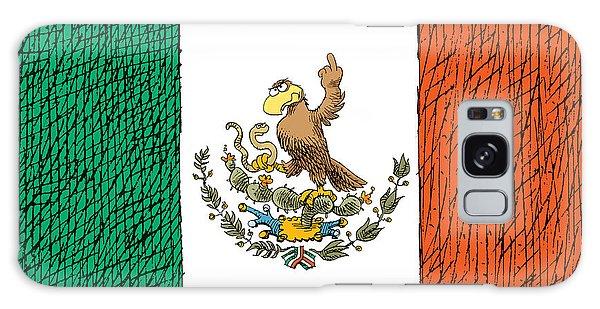 Mexico Flips Bird Galaxy Case