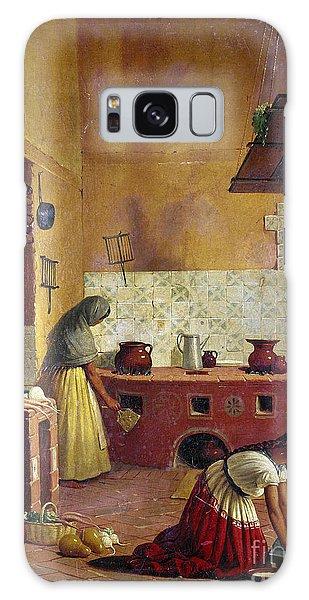 Mexico: Kitchen, C1850 Galaxy Case