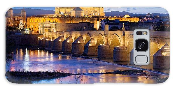 Cathedral Mosque And Roman Bridge In Cordoba Galaxy Case