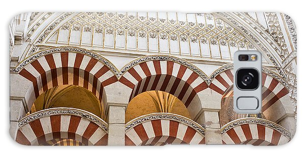 Mezquita Cathedral Architectural Details Galaxy Case