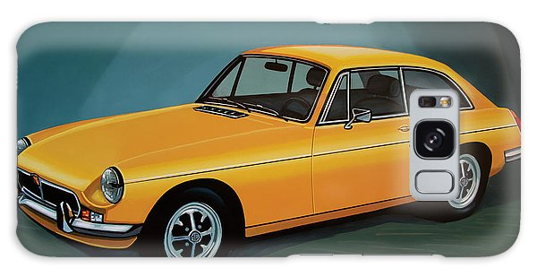 Automobile Galaxy Case - Mgb Gt 1966 Painting  by Paul Meijering