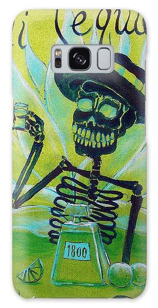 Skull Galaxy Case - Mi Tequila by Heather Calderon
