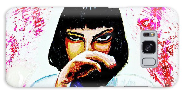 Galaxy Case featuring the painting MIA by eVol i
