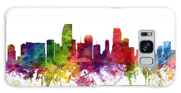 Miami Cityscape 06 Galaxy Case