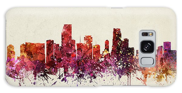 Miami Cityscape 09 Galaxy Case by Aged Pixel